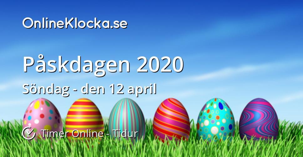 Påskdagen 2020